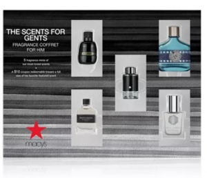 ihocon: Men's 5-Pc. The Scents For Gents Fragrance Gift Set For Him 男士香水禮盒