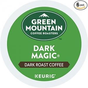 Green Mountain Coffee Roasters Dark Magic  咖啡膠囊 72個 才$22.12免運(原價$27.65)