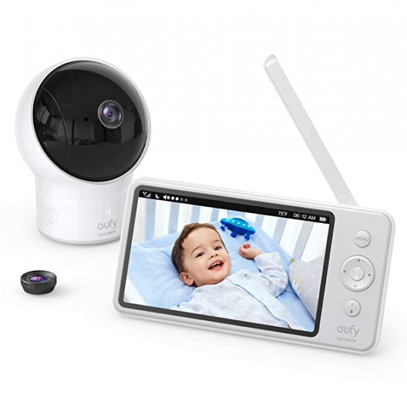 ihocon: eufy Security Video Baby Monitor with Camera and Audio 嬰兒監視器