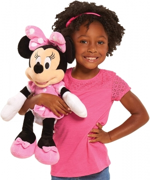 Disney Junior Mickey Mouse Minnie Mouse 迪士尼米妮玩偶 $9.97(原價$16.99)
