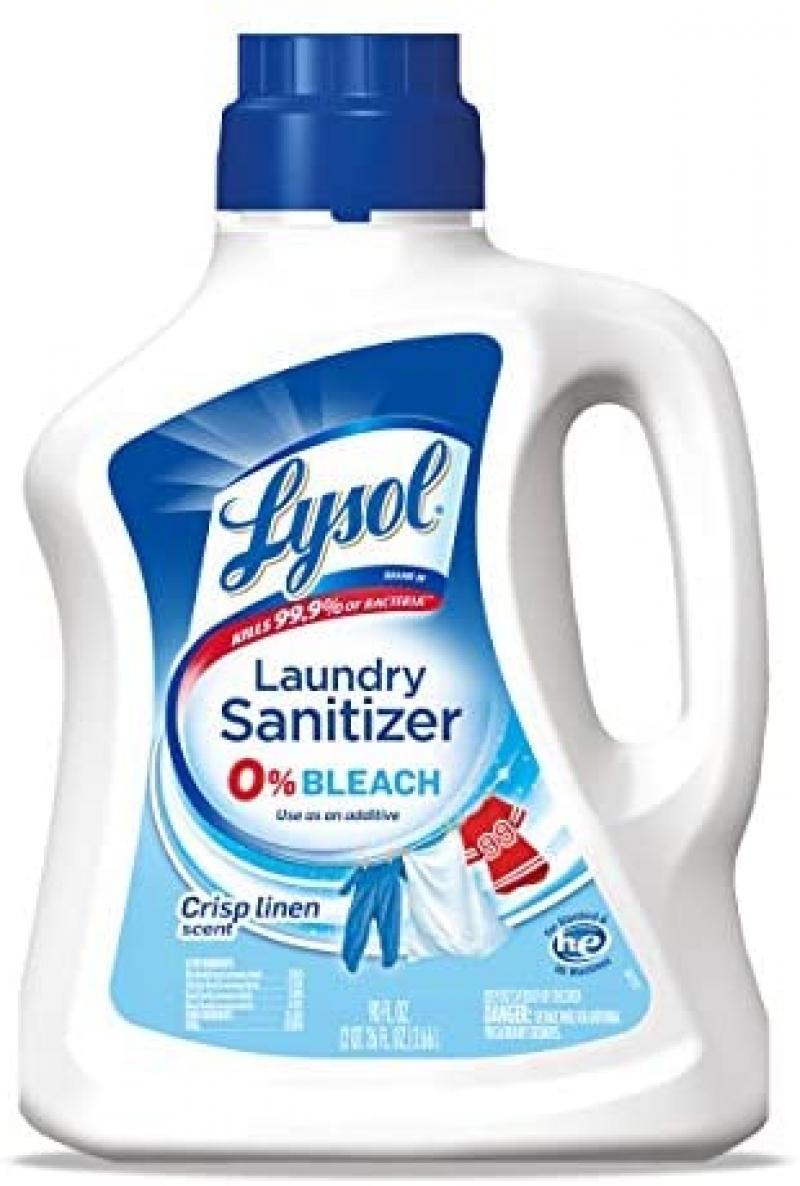 ihocon: Lysol Laundry Sanitizer Additive,Multi 90 Fl Oz 洗衣消毒劑