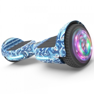 ihocon: Flash Wheel Hoverboard 6.5 Bluetooth Speaker with LED Light Self Balancing Wheel Electric Scooter自平衡電動滑板車, 含藍牙揚聲器