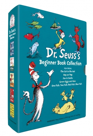 ihocon: Dr. Seuss's Beginner Book Collection (Cat in the Hat, One Fish Two Fish, Green Eggs and Ham, Hop on Pop, Fox in Socks) 精裝本
