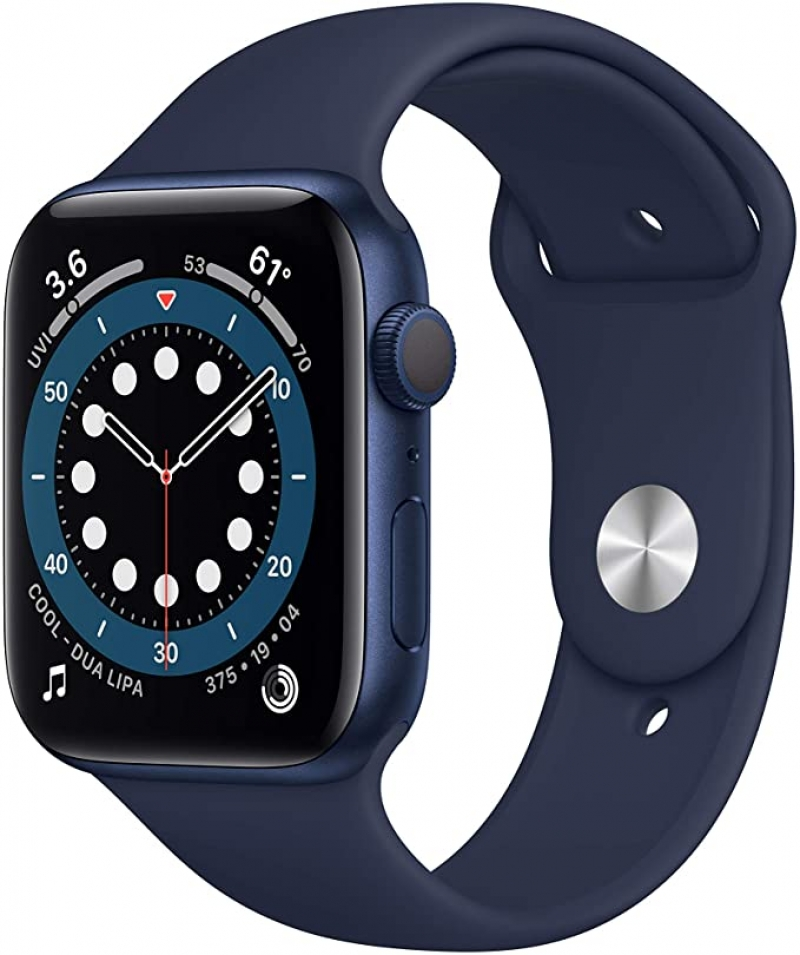 ihocon: New Apple Watch Series 6 (GPS, 44mm) - Blue