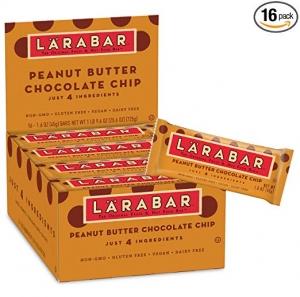 Larabar Gluten Free Bar 16個 $10.66免運 (原價$14.21)