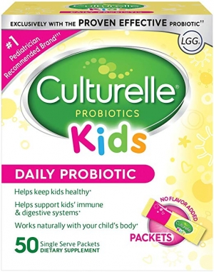 ihocon: Culturelle Kids Daily Probiotic Packets Dietary Supplement,50 Single Packets 兒童益生菌