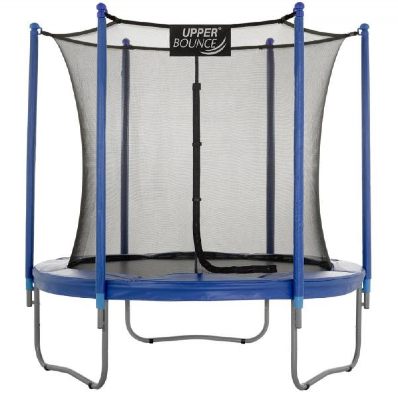 ihocon: Upper Bounce 7.5 ft. Trampoline and Enclosure Set Equipped with Easy Assemble Feature 彈跳床/蹦床含安全網
