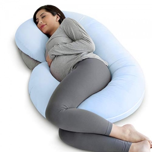 ihocon: PharMeDoc Pregnancy Pillow with Jersey Cover C型孕婦枕