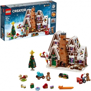 ihocon: [2020新款] LEGO Creator Expert Gingerbread House 10267 Building Kit, New 2020 (1,477 Pieces)