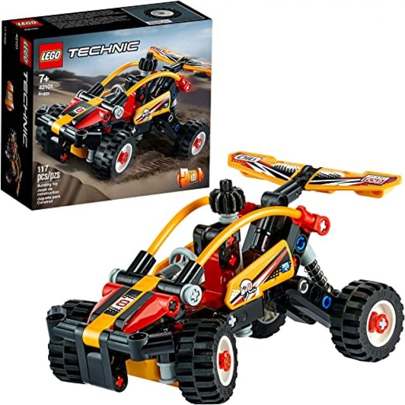 ihocon: [2020新款] LEGO Technic Buggy 42101 Dune Buggy Toy Building Kit(117 Pieces)