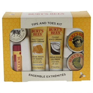 ihocon: Burt's Bees Tips & Toes 6 Piece Kit for Women 禮盒