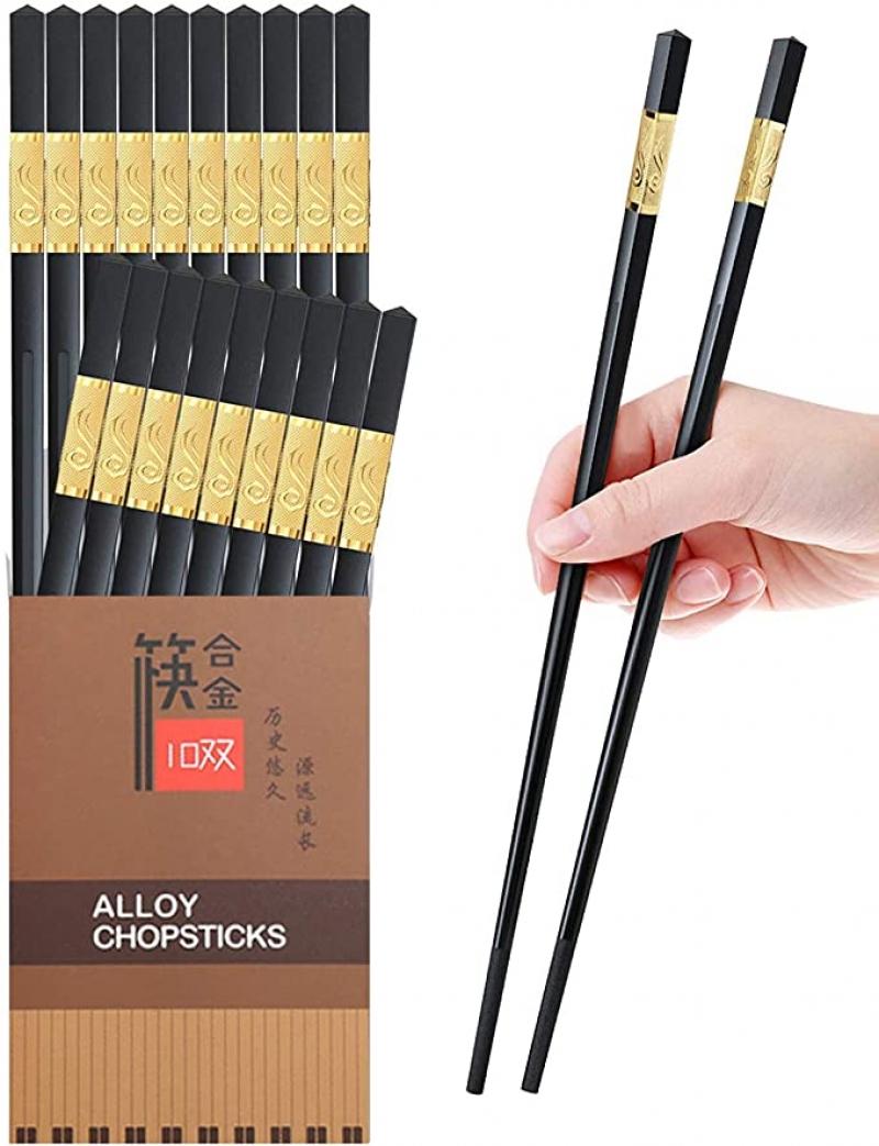 YUESUO 玻璃纖維筷子 10雙 $5.99(原價$6.59)