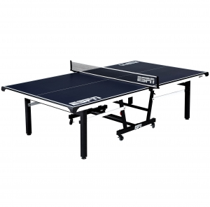 ihocon: ESPN Official Size Table Tennis Table with Table Cover 乒乓球桌含防塵罩