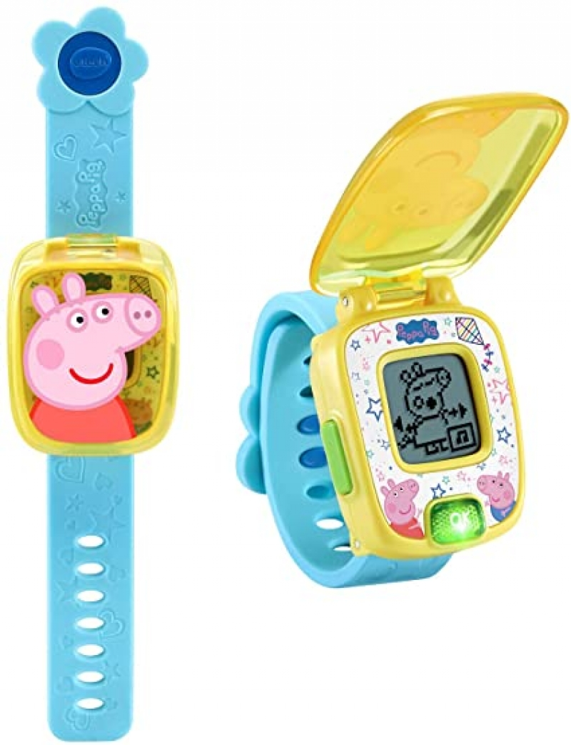 ihocon: VTech Peppa Pig Learning Watch 兒童學習錶