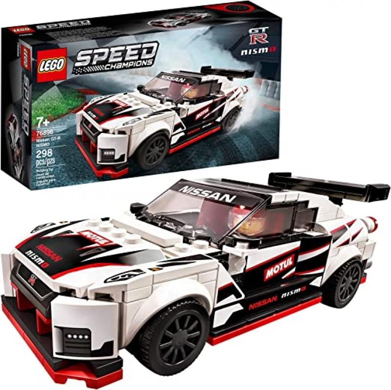 ihocon: [2020新款]LEGO Speed Champions Nissan GT-R NISMO 76896, New 2020 (298 Pieces)