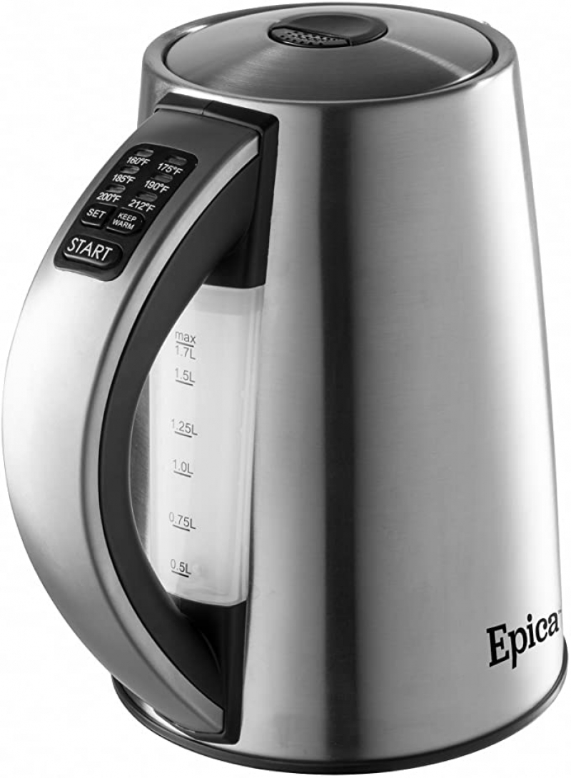 ihocon: Epica 6-Temperature Variable Stainless Steel Cordless Electric Kettle  不銹鋼電熱水瓶