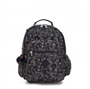 ihocon: Kipling Seoul Go 15 Laptop Backpack Vibrant Sketch    電腦背包