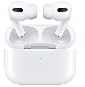 ihocon: Apple AirPods Pro Bluetooth Earbuds w/ Wireless Charging Case, White (MWP22AM/A)