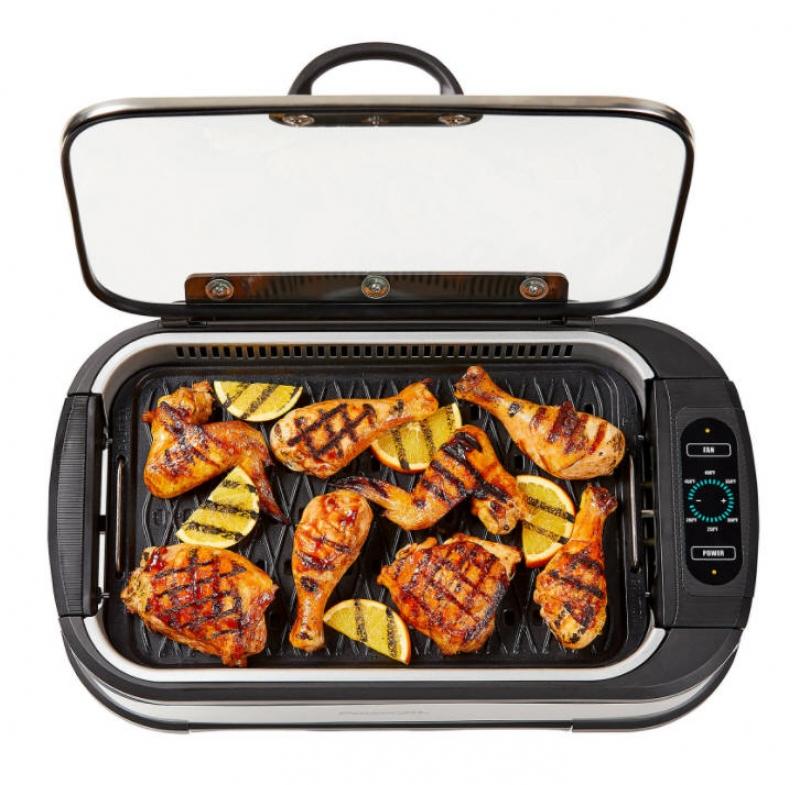 ihocon: PowerXL Smokeless Grill Pro 含蓋無煙燒烤爐