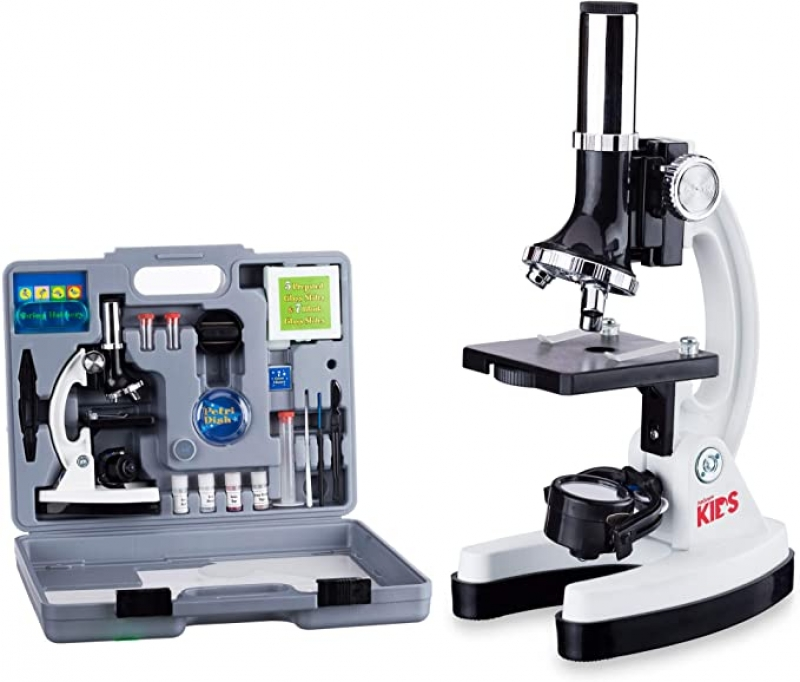 ihocon: AmScope 120X-1200X 52-pcs Kids Beginner Microscope 兒童顯微鏡