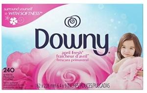 ihocon: Downy April Fresh Fabric Softener Dryer Sheets, 240 count 衣物柔軟烘衣紙