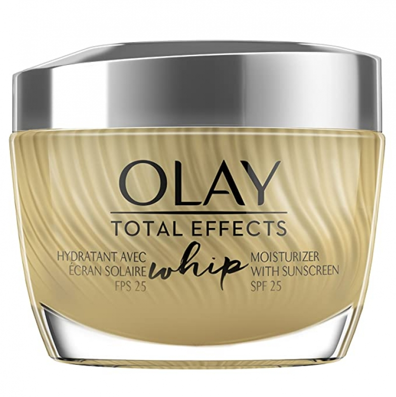 ihocon: Olay Total Effects Whip Face Moisturizer with Sunscreen, SPF 25, 1.7 oz 全效保濕霜