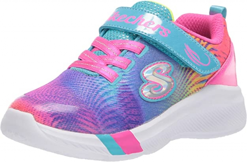 ihocon: Skechers Unisex-Child Dreamy Lites-Sunny Sprints Sneaker 童鞋