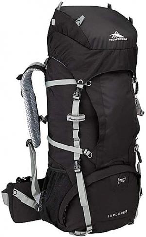 ihocon: High Sierra Explorer 55L Top Load Internal Frame Backpack Pack 內部框架登山背包