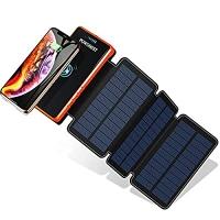ihocon: POWOBEST Solar Power Bank, 20000mAh 太陽能行動電源/充電寶