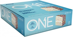 ihocon: ONE Gluten Free Protein Bars with 20g Protein and only 1g Sugar, 2.12 oz (12 Pack) 蛋白質棒