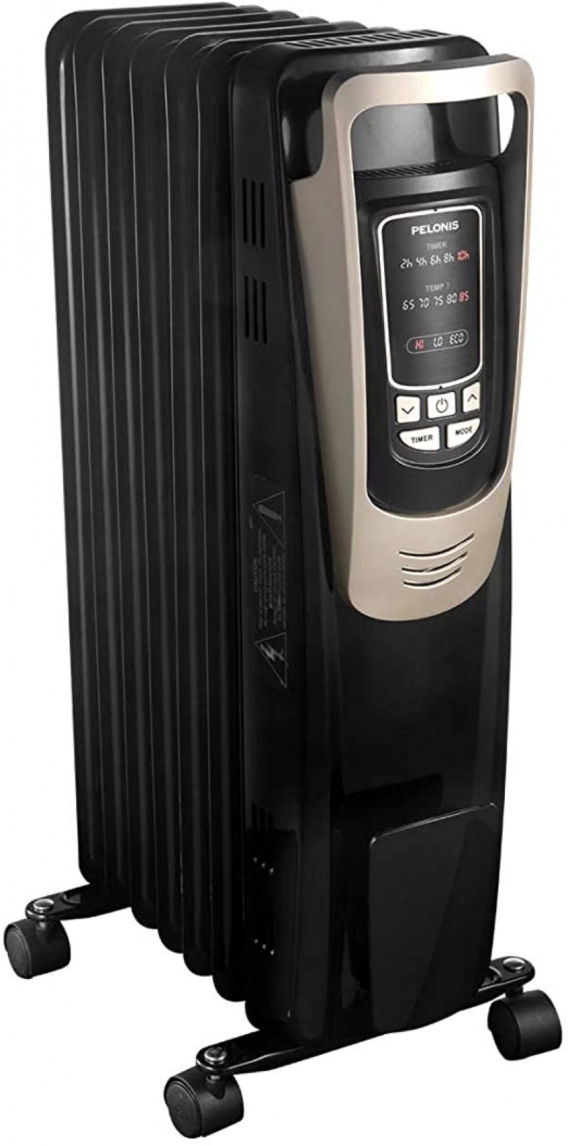 ihocon: PELONIS Oil Filled Radiator Heater with Programmable Thermostat, 10H Timer 電暖爐