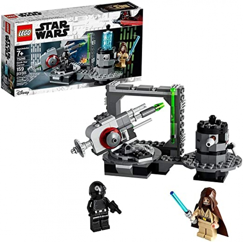 ihocon: LEGO Star Wars: A New Hope Death Star Cannon 75246 Advanced Building Kit with Death Star Droid (159 Pieces)