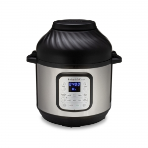 ihocon: Instant Pot Duo Crisp and Air Fryer, 6 Quart 11-in-1 One-Touch Multi-Use Programmable Pressure Cooker with Air Fryer Lid 多功能電壓力鍋/氣炸鍋