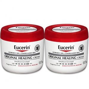 ihocon: Eucerin Original Healing Cream - Fragrance Free, Rich Lotion for Extremely Dry Skin - 16 oz. Jar (Pack of 2)