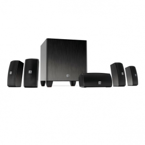 ihocon: JBL Cinema 610 5.1 Channel Home Theater Speaker System with Powered Subwoofer (Black)家庭劇院音響組合