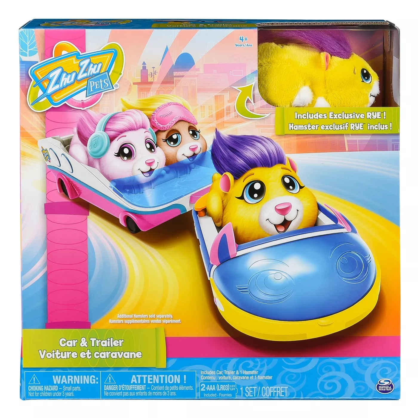 ihocon: ZhuZhu Pets Car and Trailer