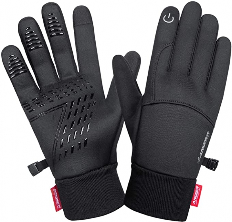 ihocon: Lanyi Touchscreen Windproof Thermal Liner Gloves 觸控螢幕防風保暖手套