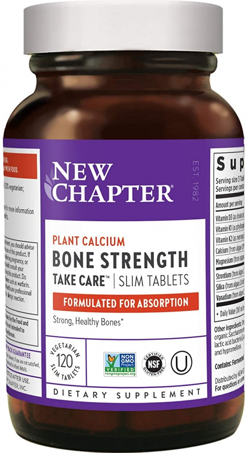 ihocon: [骨骼強化] New Chapter Calcium Supplement, 120 Count (40 Day Supply)  鈣片