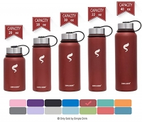 ihocon: SIMPLE DRINK Stainless Steel Insulated Water Bottle不銹鋼保温水瓶