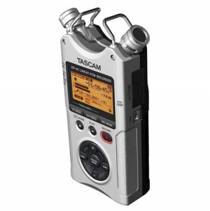 ihocon: Tascam DR-40 4-Track Handheld Digital Audio Recorder 數位錄音機