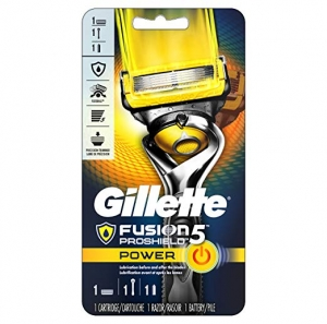 ihocon: Gillette Fusion5 ProShield  Men's Razor, Handle & 1 Blade Refill 男士刮鬍刀