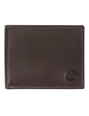 ihocon: Timberland Men's Leather Wallet with Attached Flip Pocket 男士皮夾
