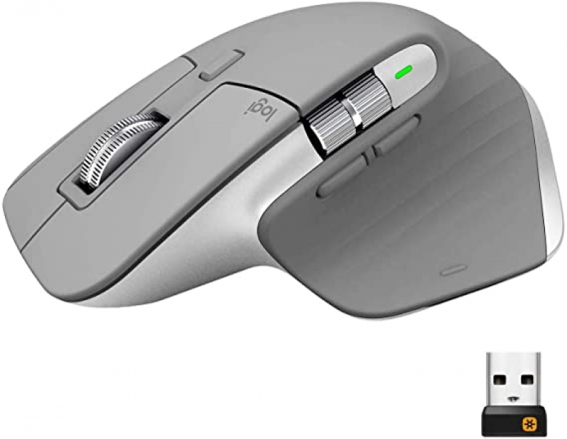 ihocon: Logitech MX Master 3 Advanced Wireless Mouse - Mid Grey 無線滑鼠