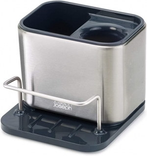 ihocon: Joseph Joseph 85133 Surface Sink Caddy Stainless Steel 不銹鋼水槽海綿/清潔刷置放盒