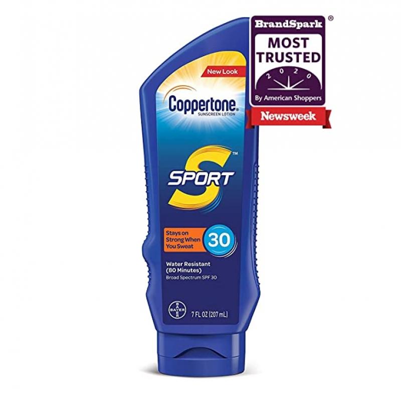 ihocon: Coppertone SPORT Sunscreen Lotion Broad Spectrum SPF 30 (7 Fluid Ounce) 防曬乳