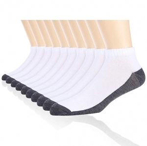 ihocon: Cooplus 10 Pairs Mens's Ankle Cushioned Socks 男襪 10雙