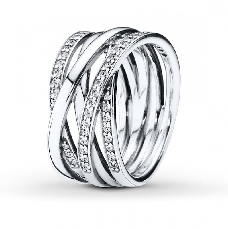 ihocon: PANDORA Ring Entwined Sterling Silver 潘朶拉純銀戒指