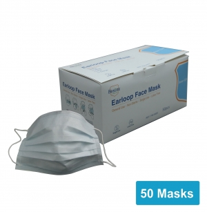 ihocon: Bestex Disposable Earloop Face Mask, 50/Box (FM-34EE) 一次性口罩50個
