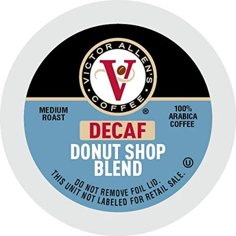 ihocon: Victor Allen Coffee Decaf Donut Shop Single Serve K-Cup, 80 Count 低咖啡因咖啡膠囊