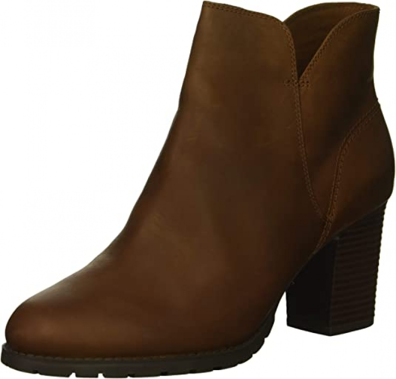 ihocon: Clarks Women's Verona Trish Fashion Boot 女士高跟短靴
